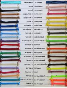 Оттенки полиэфирного шнура для вязания ковров крючком