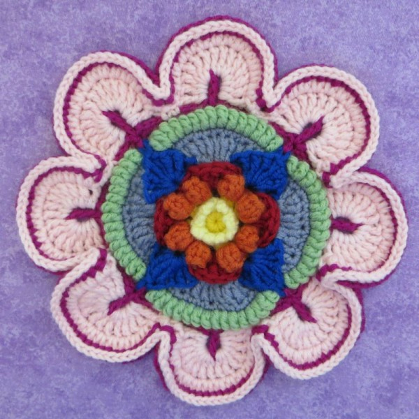 Mandala Madness. Как вязать манадалу крючком