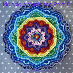 Mandala Madness. Часть 8. Как вязать мандалу крючком